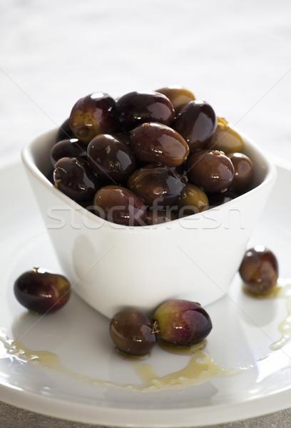 Vers olijven foto kom Stockfoto © mpessaris