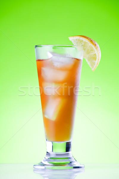 Fresh Ice Tea Stock photo © mpessaris