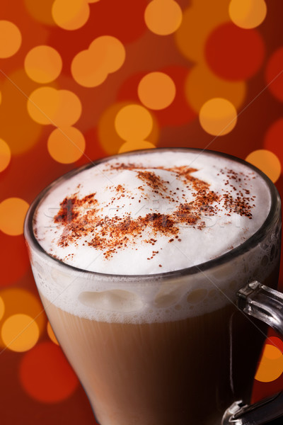 Xmas Cappuccino Stock photo © mpessaris