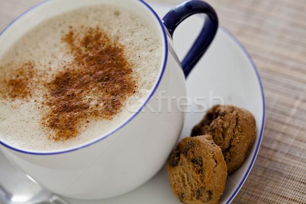 Cappuccino bonbons photographie Photo stock © mpessaris