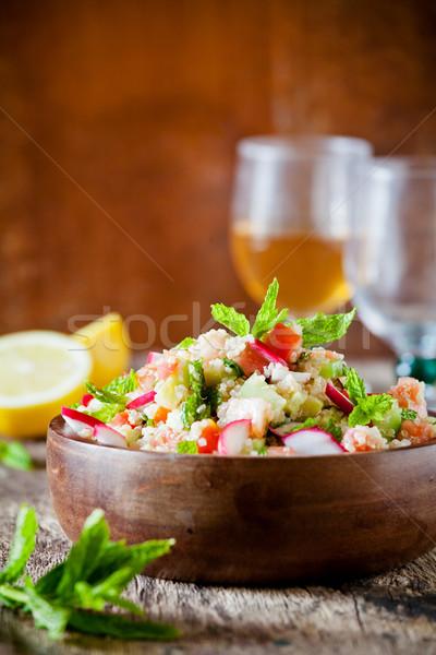 Refreshing Quinoa Salad Stock photo © mpessaris