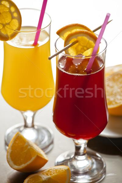 Fresh Cranberry and Orange Juice Stock photo © mpessaris