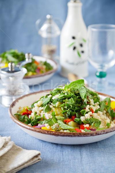 Summer Bulgur Salad Stock photo © mpessaris