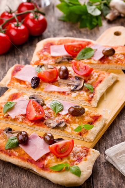 Pizza Stock photo © mpessaris