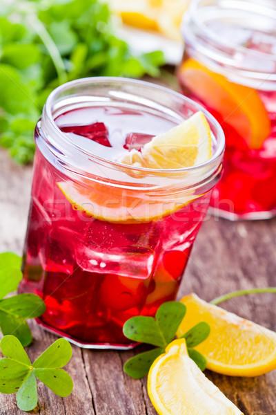 Homemade Cranberry Juice Stock photo © mpessaris