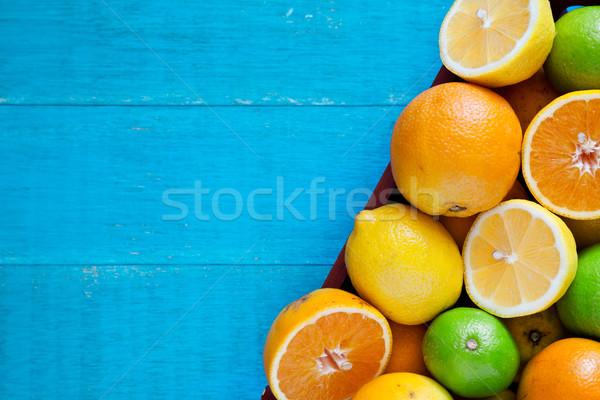 Cytrus owoce lata pomarańczowy Zdjęcia stock © mpessaris