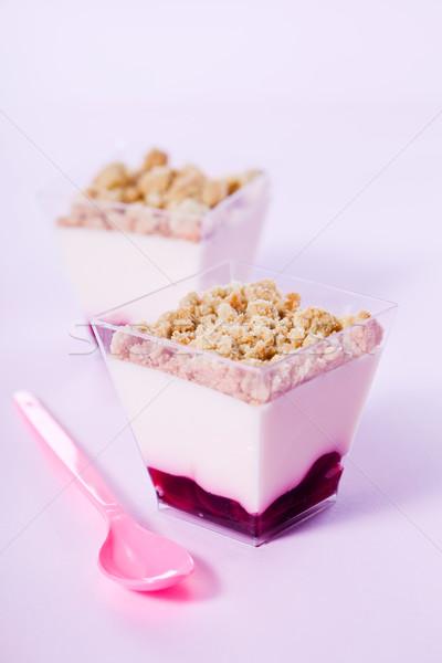 Strawberry Cheesecake Stock photo © mpessaris