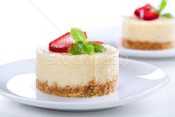 Cheesecake Close Up Stock photo © mpessaris