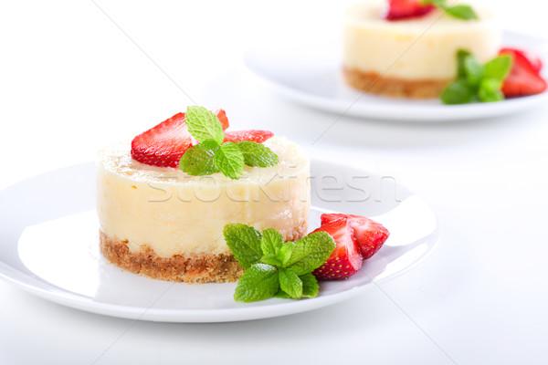 Tiny Cheesecakes Stock photo © mpessaris