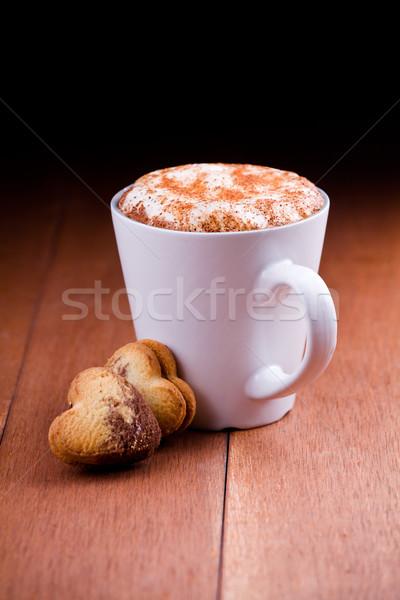 Stok fotoğraf: Sevmek · kahve · fincan · iki