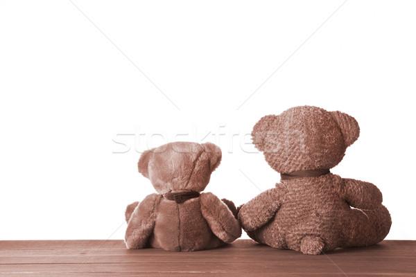 Dois um bonitinho Foto stock © mpessaris