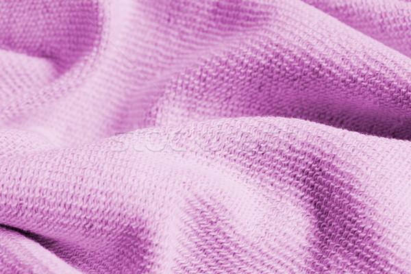 Miękkie różowy bed Zdjęcia stock © mpessaris