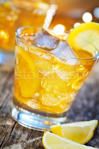 Pić cytryny Zdjęcia stock © mpessaris