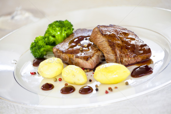 Stock photo: Steaks