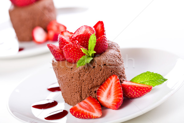 Chocolate Mousse Stock photo © mpessaris