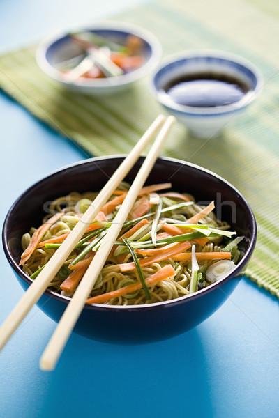 Chińczyk posiłek puchar warzyw Zdjęcia stock © mpessaris