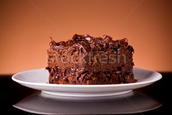 Chocolate Cake Stock photo © mpessaris