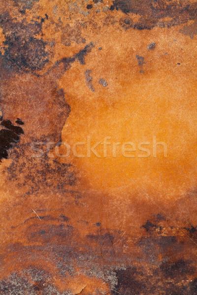 Paslı atış eski parça Metal Stok fotoğraf © mpessaris