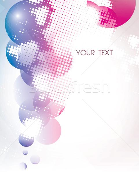 Abstract kleurrijk vector eps10 textuur licht Stockfoto © MPFphotography