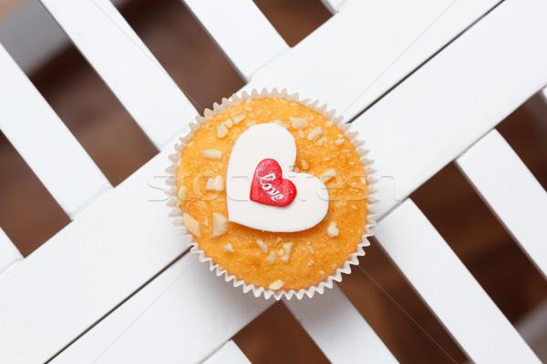 valentine's day muffin Stock photo © mrakor