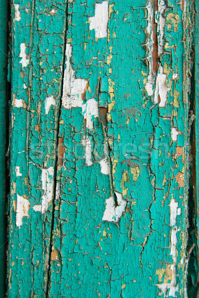 Weathered old painted wood Stock photo © mrakor