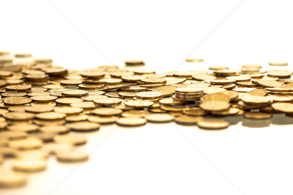 pile of coins Stock photo © mrakor