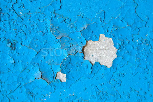 Weathered damaged old painted wall Stock photo © mrakor