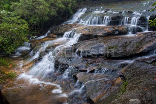 ストックフォト: 青 · 山 · オーストラリア · シドニー · ニューサウスウェールズ州 · 水