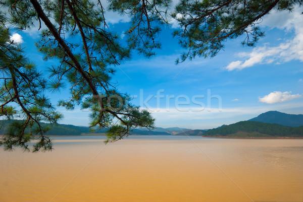 Вьетнам легкое долины небе воды Сток-фото © mroz