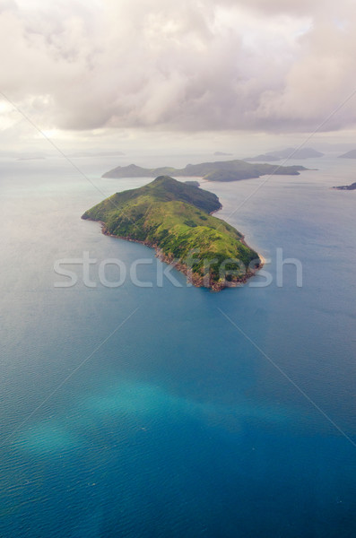 Whitsundays, Queensland - Australia - Aerial View Stock photo © mroz