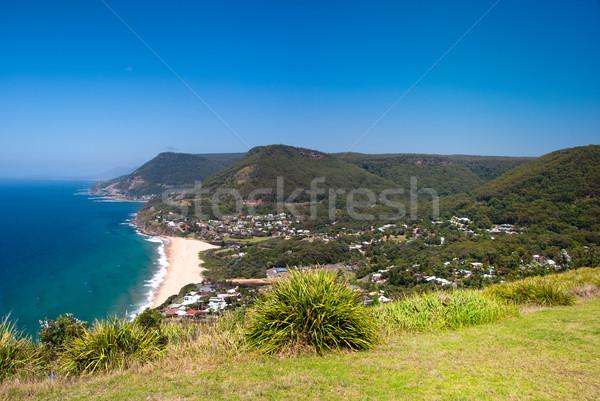 Praia Sydney Austrália costa céu Foto stock © mroz