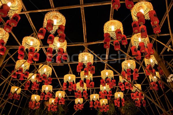 Asya festival geleneksel yılbaşı Vietnam Stok fotoğraf © mroz