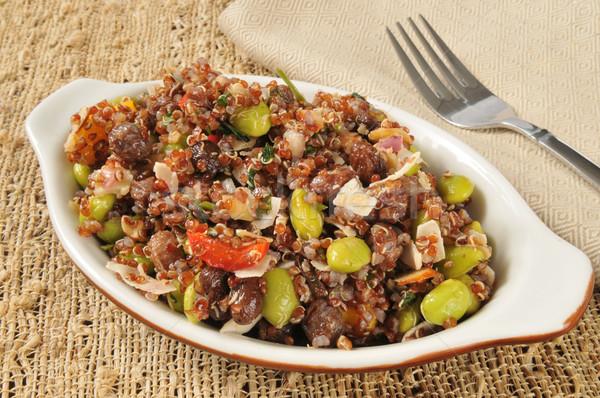 California red quinoa salad Stock photo © MSPhotographic