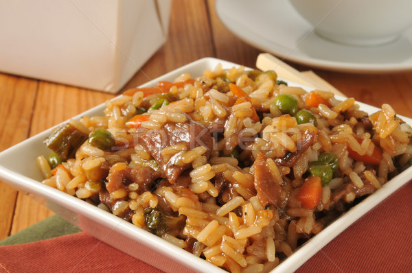 Stock photo: Chinese food