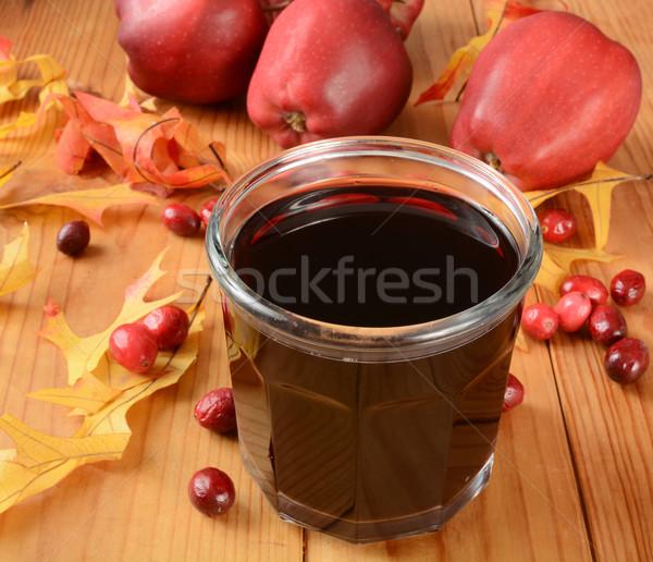 Cranberry apple juice Stock photo © MSPhotographic