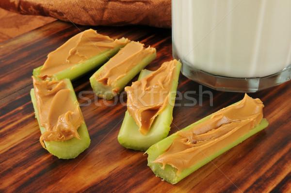 Healthy bedtime snack Stock photo © MSPhotographic