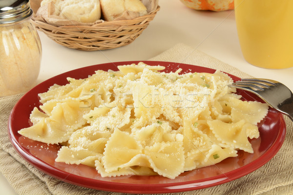 Hot buttered noodles Stock photo © MSPhotographic