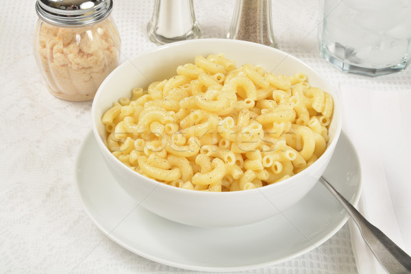 Macaroni and butter Stock photo © MSPhotographic