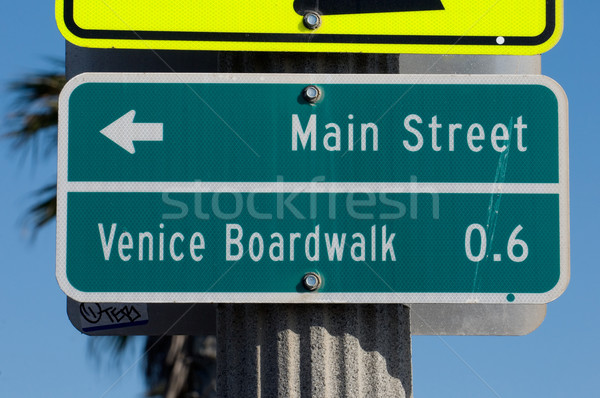 Venice Beach Signage Stock photo © MSPhotographic