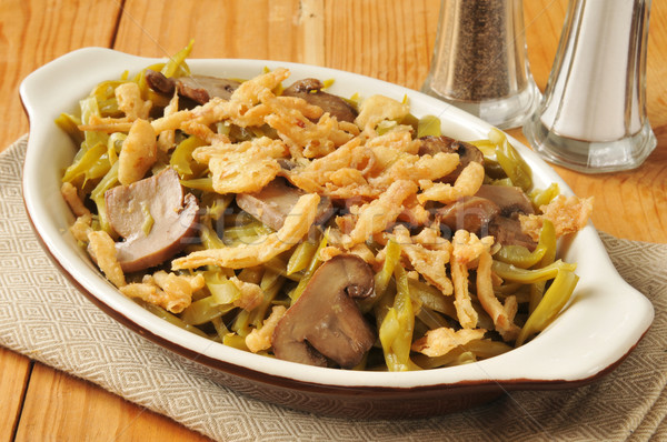 Green bean casserole Stock photo © MSPhotographic