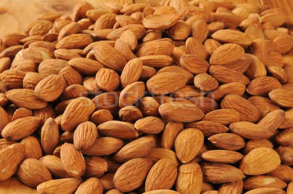 Organic almonds Stock photo © MSPhotographic