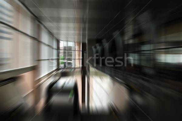 Abstract urban motion blur Stock photo © MSPhotographic