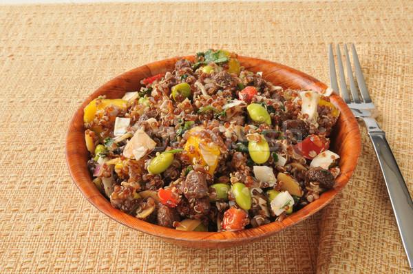 California quinoa salad Stock photo © MSPhotographic