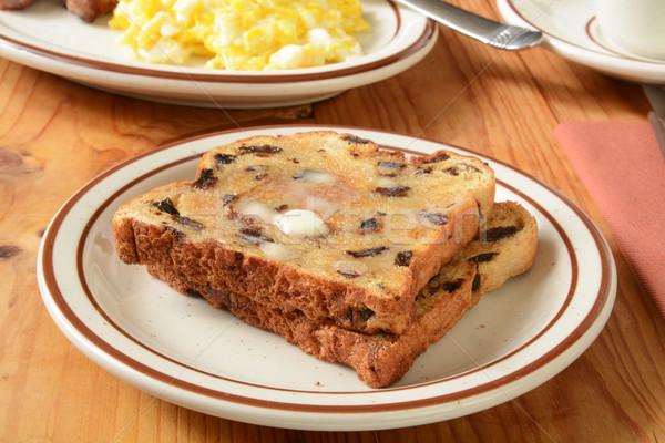 Raisin toast Stock photo © MSPhotographic
