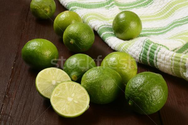 Organic key limes Stock photo © MSPhotographic