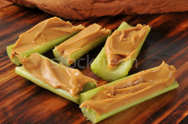 Peanut butter and celery Stock photo © MSPhotographic