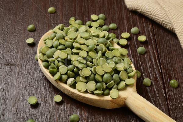 Dried split peas Stock photo © MSPhotographic
