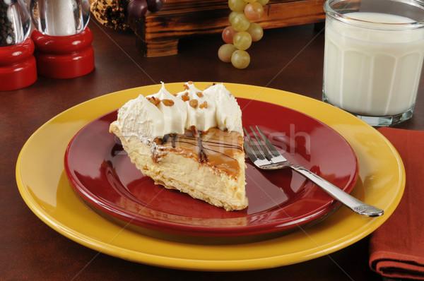 Gourmet cream pie Stock photo © MSPhotographic