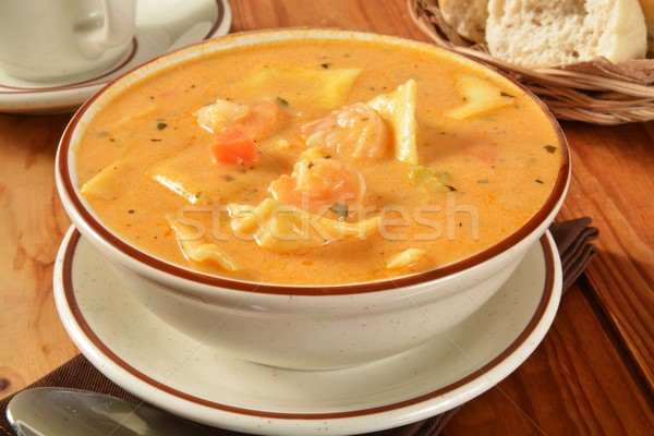 Seafood bisque Stock photo © MSPhotographic