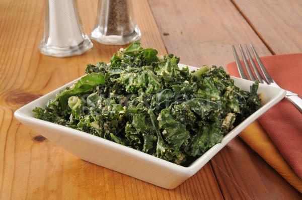 Kale salad Stock photo © MSPhotographic